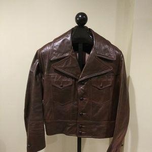 Other - Gary Gordon Vintage Mens Leather Jacket Size 44